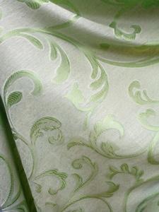Римские шторы купить на окна - Ткань для портьер Цветы зеленые. Арт. DJ-15R - цена за 1 кв.м.
