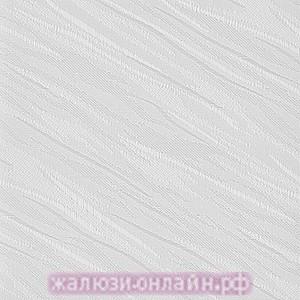ВЕНЕЦИЯ 01 БЕЛЫЙ - Ламели вертикальные из ткани без карниза - цена за 1 кв. метр с грузилами и цепочкой