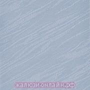 ВЕНЕЦИЯ 24 ГОЛУБОЙ - Ламели вертикальные из ткани без карниза - цена за 1 кв. метр с грузилами и цепочкой