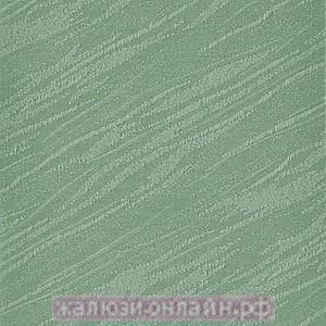 ВЕНЕЦИЯ 26 САЛАТОВЫЙ - Ламели вертикальные из ткани без карниза - цена за 1 кв. метр с грузилами и цепочкой