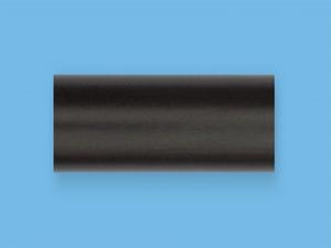 Венге - Цвет металлической трубы для декоративного карниза