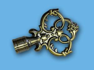 ВЕРСАЛЬ АНТИК - наконечник для металлического карниза - выбор формы и цвета