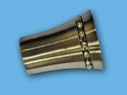 ВИЗИРЬ АНТИК - наконечник для металлического карниза - выбор формы и цвета