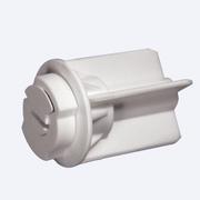 LUX - Заглушка верхней трубки 34 мм для рулонных штор - цена за 1 комплект