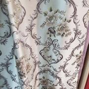 Римские шторы фото Жаккардовая ткань Гобелен бежевая. Ширина - 280 см. Арт. KPT8-14 8 - цена за 1 кв.м.