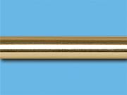 Золото глянец - Цвет металлической трубы для декоративного карниза