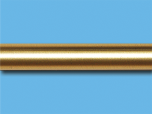 Золото матовый - Цвет металлической трубы для декоративного карниза